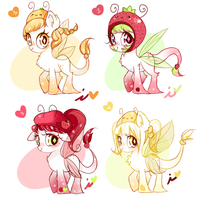 Fruit Common Dewlettes (Adoptables) PRICE UPDATE! by Ipun