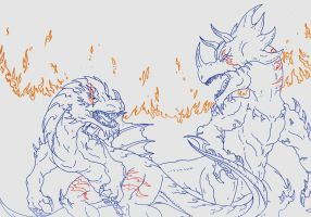 Kaiju: The Fire by Cyprus-1