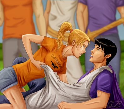 Percabeth by sbrigs