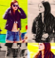 Emma Watson on the set of Bling Ring by OvOsmile