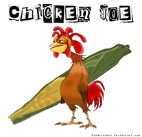 Surfs Up :: Chicken Joe by HinderedArt