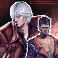 Young and Classic Dante w/ Speed Painting by BonnyJohn