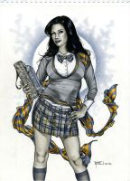Zatanna in Ravenclaw by RichardCox