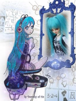 Baby Blue in the Mirror by Psychedelic-Factory