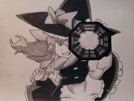 Marisa from Touhou by SAOBetaTester