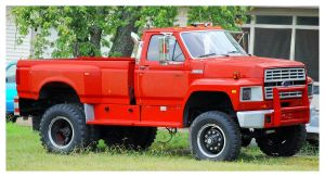 A Ford F-600 Truck by TheMan268