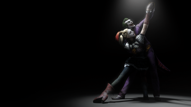 They became the King and Queen of Gotham City... by The-Combine