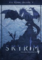 You are DragonBorn - Skyrim Poster by MindlessInk