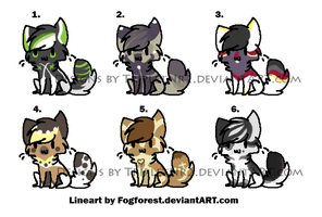 Cat chibi Batch 2 by TripletNr2
