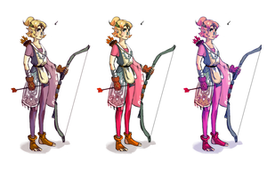 Zelda concept colours by Algosky