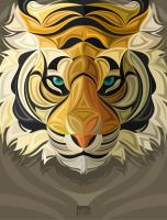 WERD tiger by awkwerd