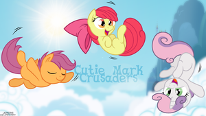 Cutie Mark Crusaders Wallpaper by JeremiS