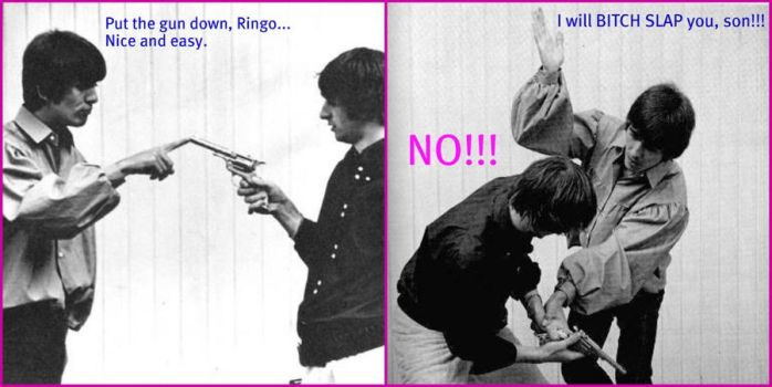 Don't Touch Ringo's Gun! by allysonpotter97