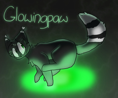 Glowingpaw by electric32900
