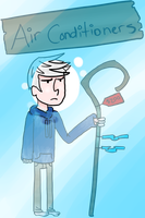 Jack Frost the Air Conditioner by Mimaah