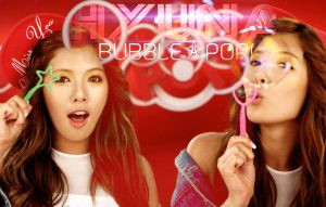 Wall Hyuna by NandeNoi