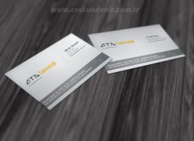 Ata Teknoloji Business Card by interfacedesigner