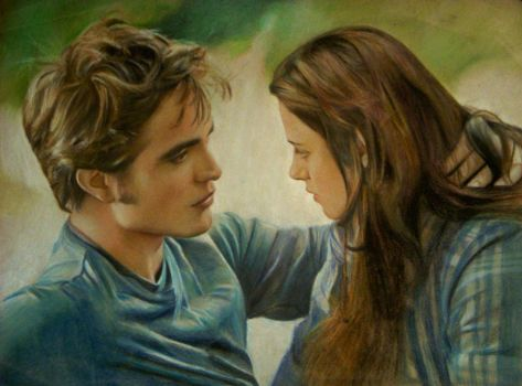 Edward and Bella by Lizapoly