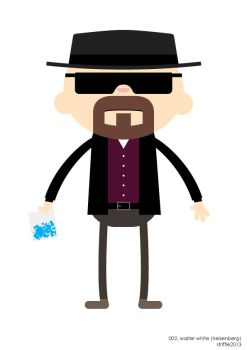 ADC: Heisenberg by striffle