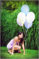 lost with balloons_II by 00Mate00
