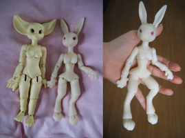 WIP BJD Rabbit 2 by vonBorowsky