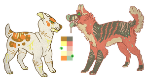 dog adopts 2 Closed by CremexButter
