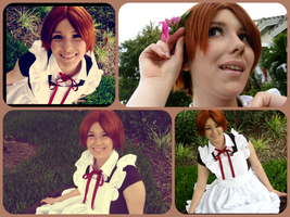 Chibitalia collage -- outfit 1 by Ita--Kun