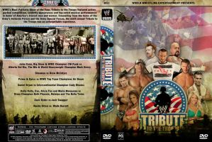 WWE Tribute to Troops DVD Cover by Chirantha