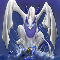 Final showdown-LUGIA by Minxies