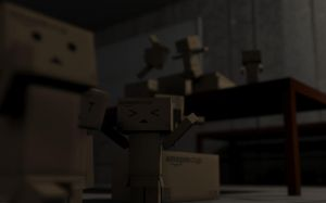 Danbo Warehouse 4 Pissed by PolyAce