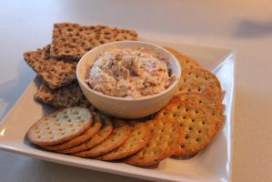 Tuna and Dill Dip with Assorted Crackers by NuclearErf