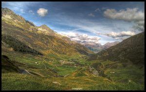 Swiss Landscape 4 - Wallpaper by superjuju29