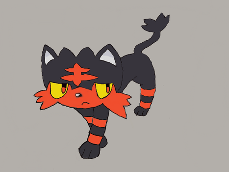Litten by SweetyPoke