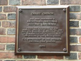 Christ Church Plaque by steveclaus