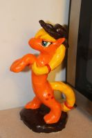 apple jack sculpture by holyhell111