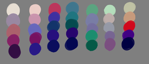 Hummingbird Palettes by ee-palettes