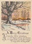 old christmas card by Marvmitty