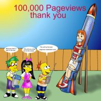 100,000 Pageviews by napoleonxvi