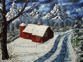 """Mountain Barn"" by DonBowling"