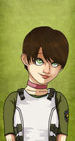 RE Portraits : Rebecca Chambers remix by Blood-Contagion