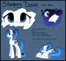 Sleeping Dawn Reference Sheet by Drawing-Heart