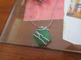 Green_glass_metal_necklace by Specter1997