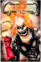 Female Ghost Rider Cover by BiancaThompson