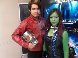 Starlord and Gamora 3 by thereanimatedunknown