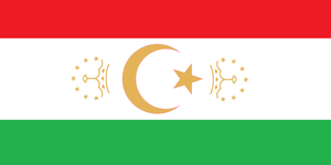 Flag of Tajikistan by zalezsky