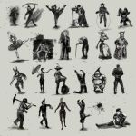 poses by hrum