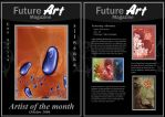 Monthly Artist - October by Future-Art-Magazine