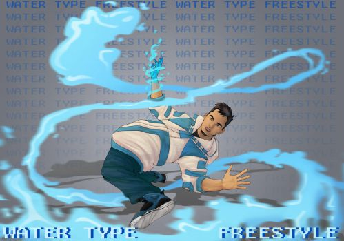 FREESTYLE(WATER) by Krzyuuba