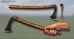 Frankish Francisca Axe by RobbieMcSweeney