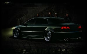 VW Phaeton VIP 2011 HQ by Flameks